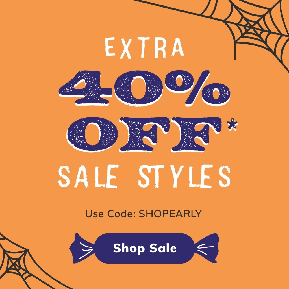 Extra 40% Off* Sale Styles. Use Code: SHOPEARLY