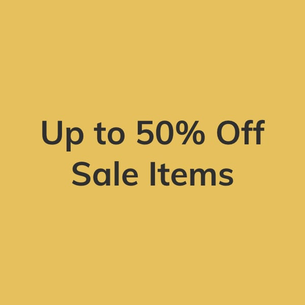 Up to 50% Off Sale Items