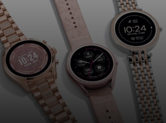 Three Michael Kors Gen6 Smartwatches