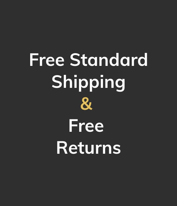 Free standard shipping & free returns.