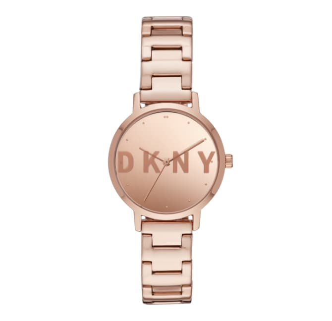 Montre DKNY ton or rose