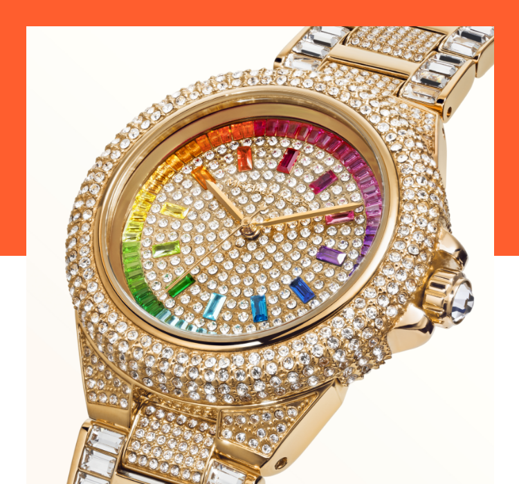 Limited Edition Michael Kors Pride watch.
